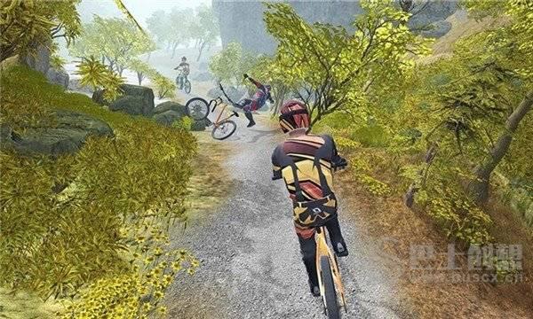 模拟登山自行车