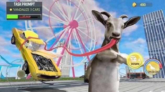 傻山羊模拟器