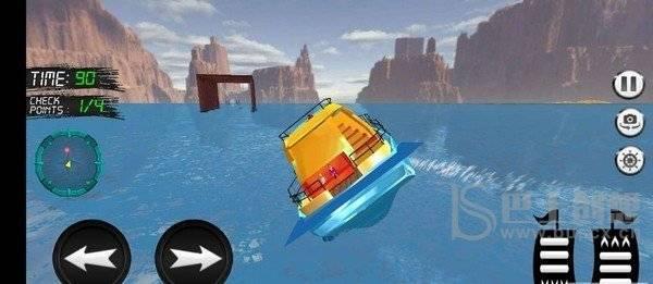 水上的士模拟器