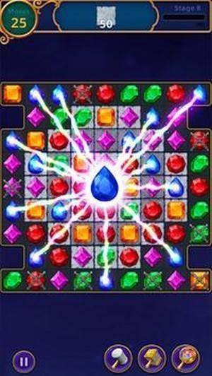 魔术珠宝拼图截图