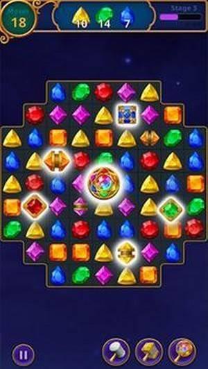 魔术珠宝拼图