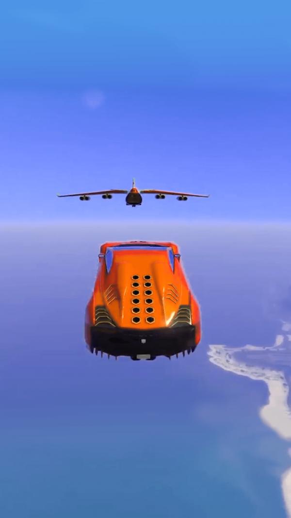 斜坡特技飞车截图