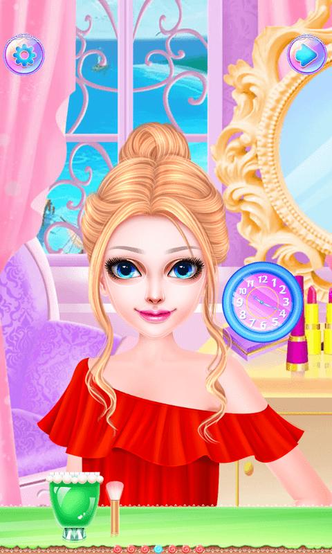 芭比公主化妆舞会