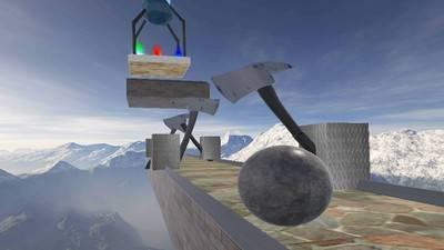 平衡球截图