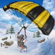山地狙击手冬季射击