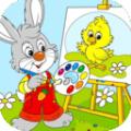 小兔子学画画APP