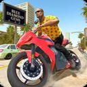 城市交通:摩托骑手