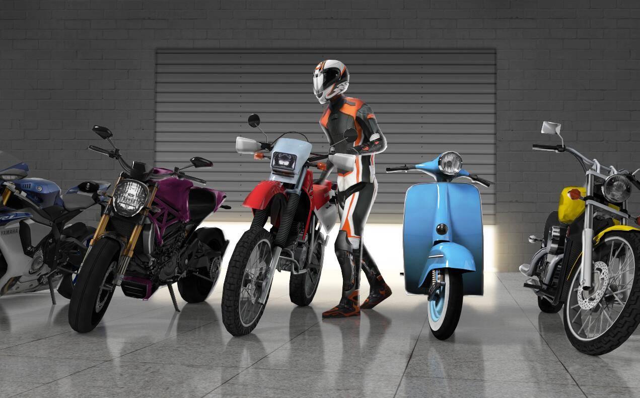 摩托交通赛2截图