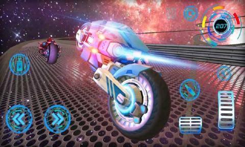 科幻星际摩托截图