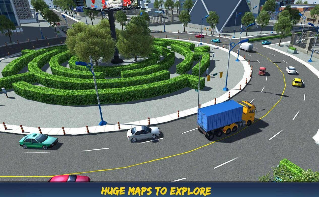 卡车道路16游戏截图