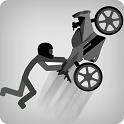 火柴人赛车跳跃游戏