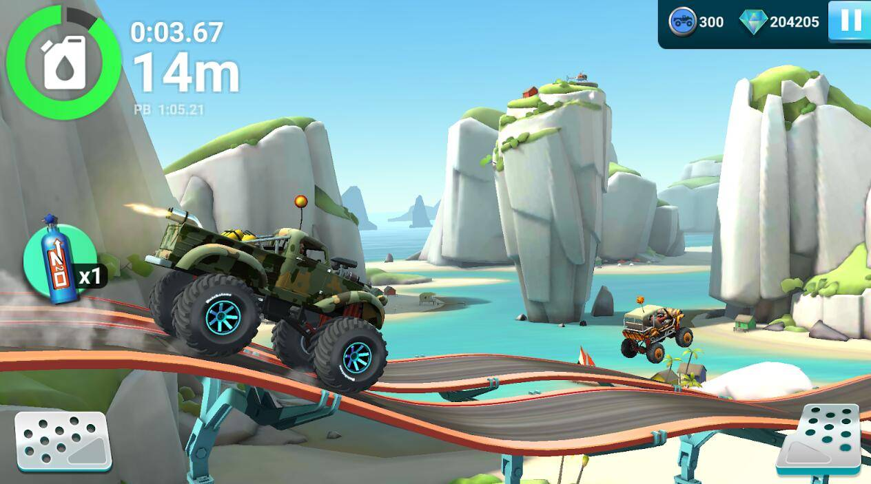 MMX爬坡赛车2游戏截图