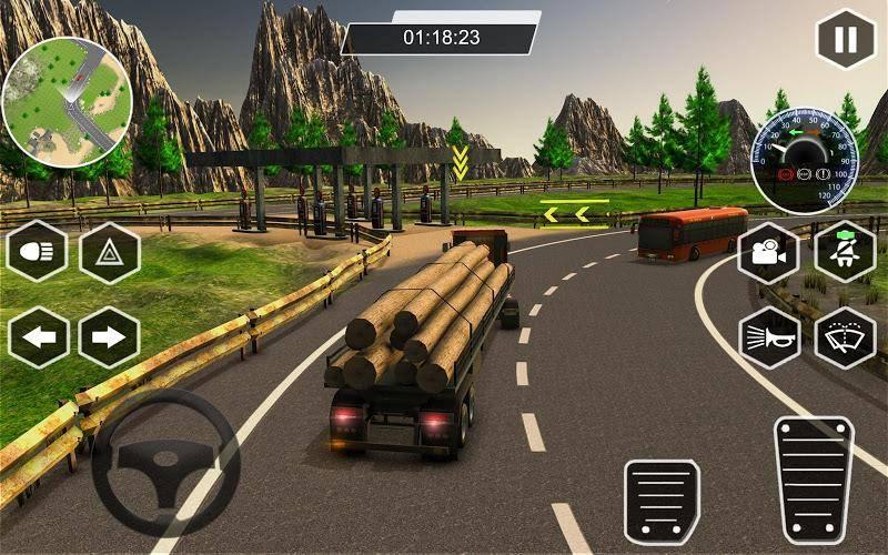 真实卡车模拟器安卓版截图
