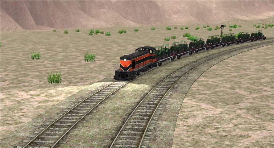 高铁火车驾驶模拟器游戏截图