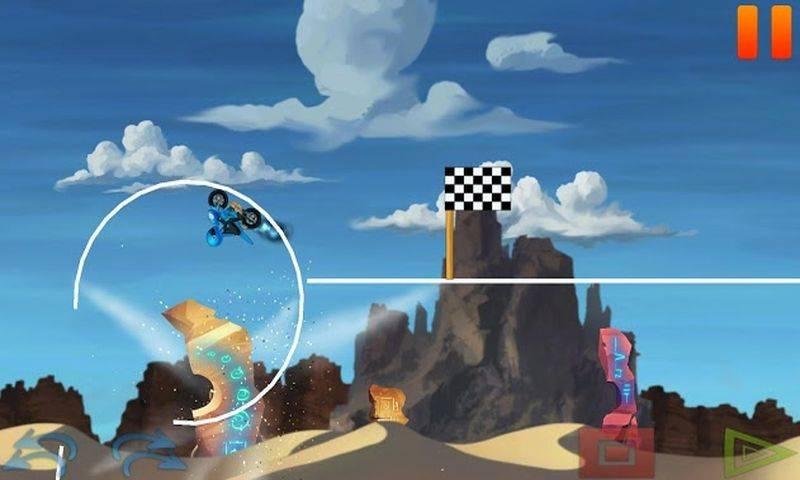 沙漠越野自行车比赛截图