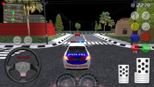 印尼警车截图