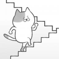 抖音上猫咪上楼梯游戏