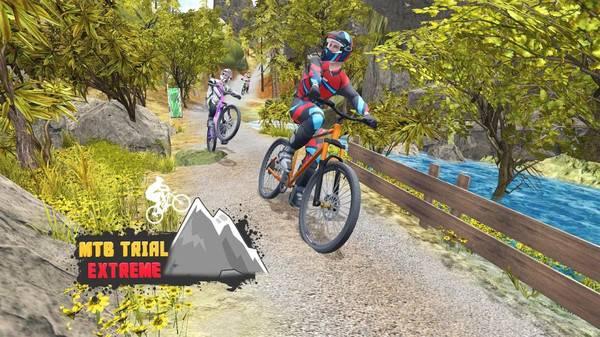 山地自行车下坡赛截图