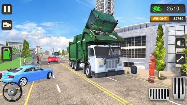城市垃圾车模拟驾驶手机版截图