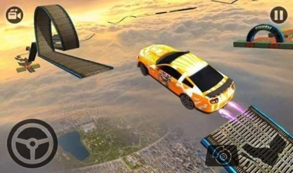 极限汽车轨迹3D截图