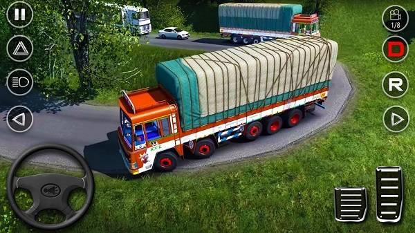 货运卡车运输驾驶截图