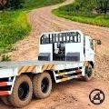 长拖车货运卡车