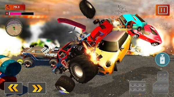 真实车祸模拟截图