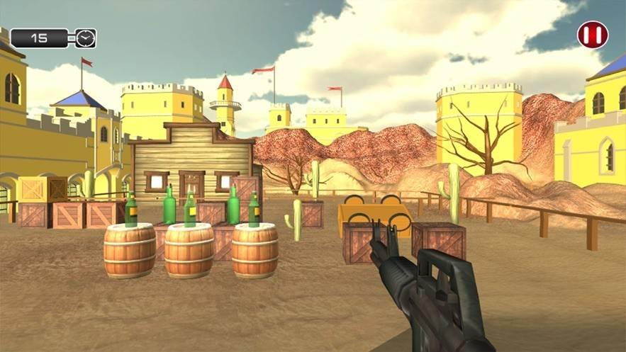 瓶子射击狙击学院安卓版截图