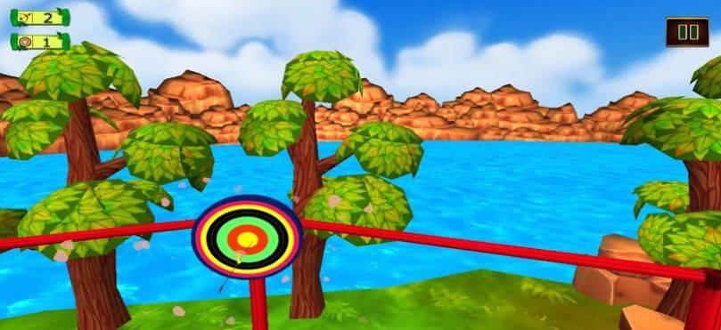 射箭土地3D弓箭挑战赛截图