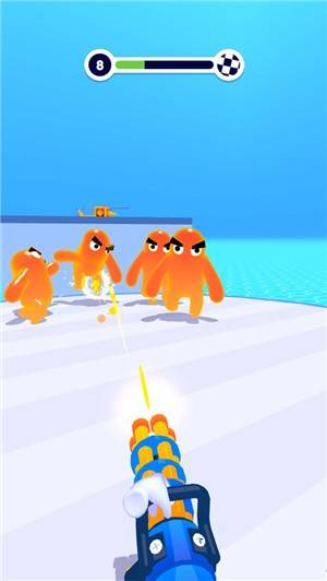 果冻人射手3D截图