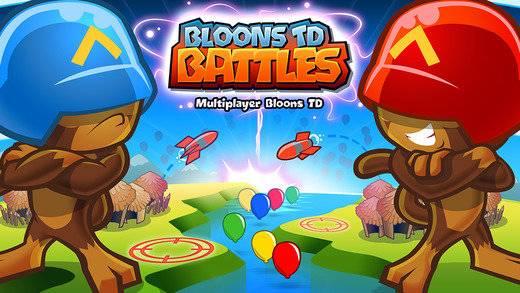 气球塔防对战游戏截图