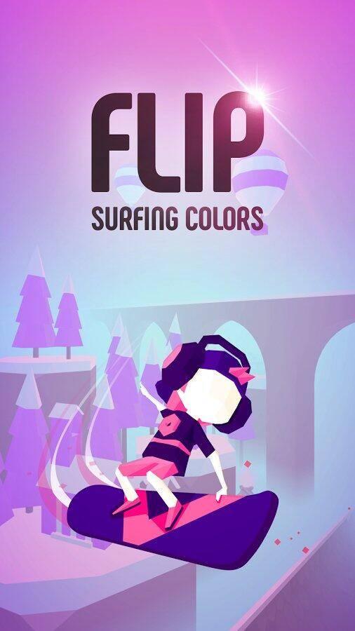 翻转:冲浪的颜色截图