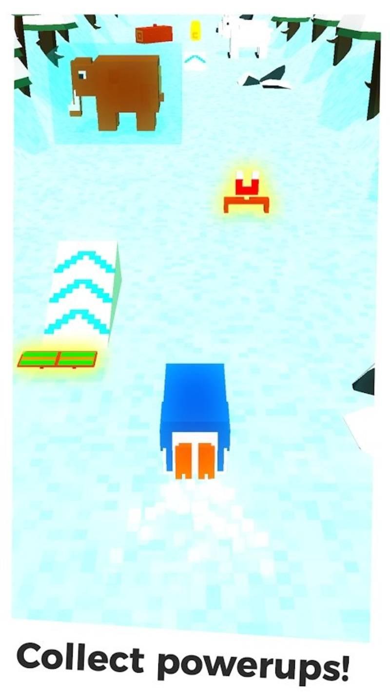 冰跑企鹅手游截图