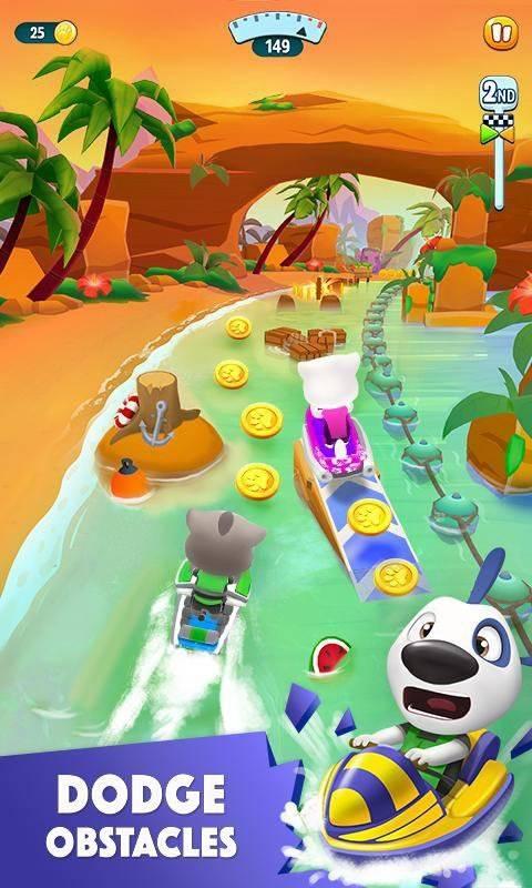 汤姆猫的摩托艇2免费版截图