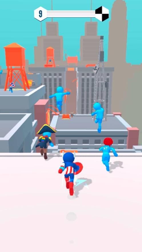 无限跑酷城市大竞技截图