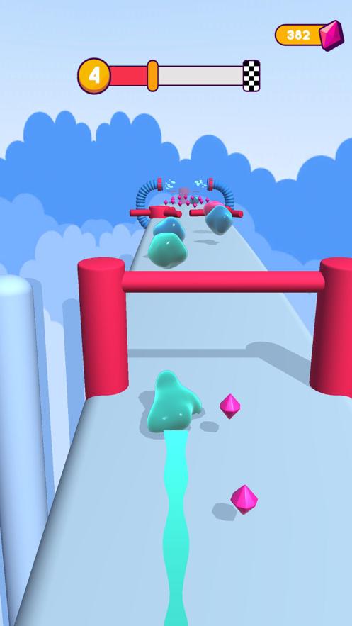 果冻人快跑3D截图