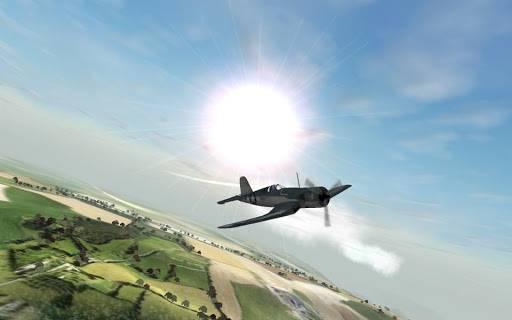 战机着陆截图