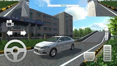 疯狂考驾照3d练车游戏截图
