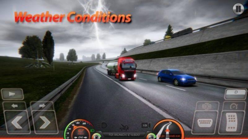 卡车模拟器欧洲2手游截图