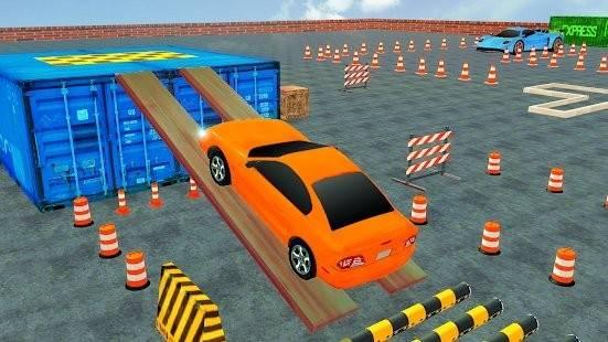 3D街头停车场截图