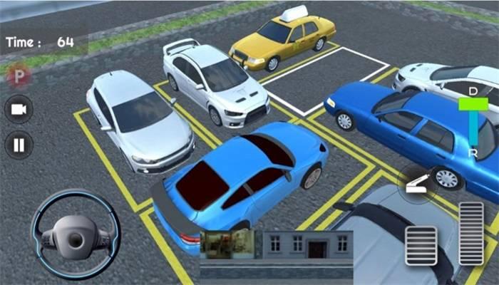 停车场驾校模拟截图