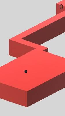 曲折路径截图