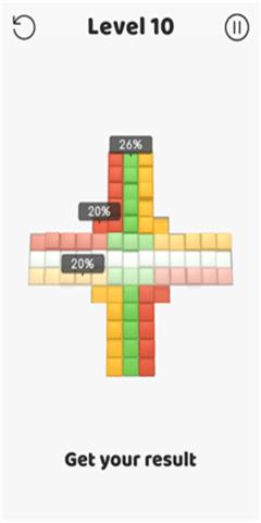 方块冲突截图
