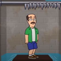 抖音上抽铁棍放水救人的游戏