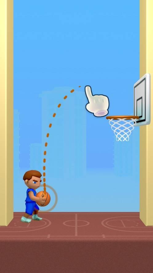 涂鸦篮球小游戏截图
