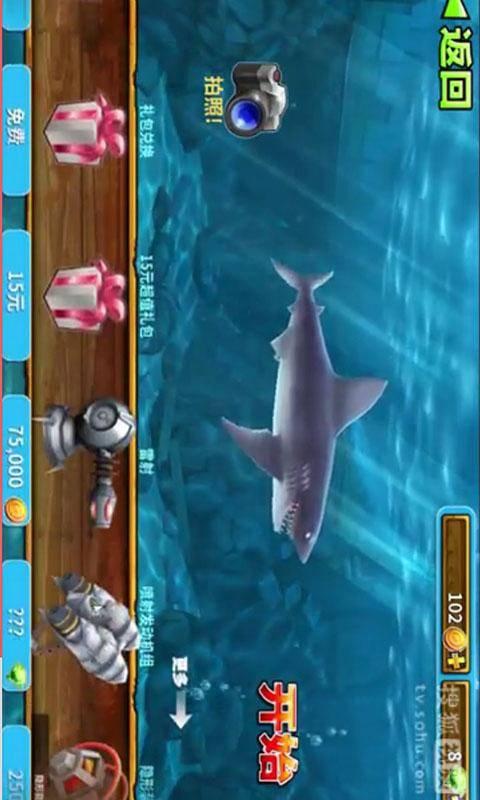 吃人鲨鱼进化视频截图