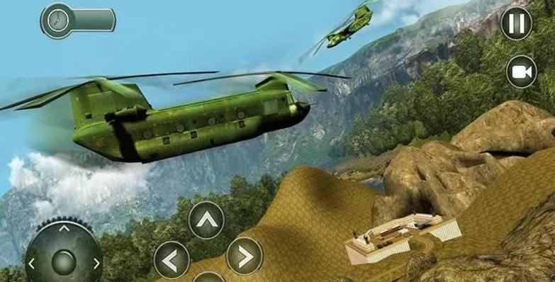 越野美国陆军运输车截图