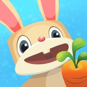 抖音兔子吃萝卜的游戏