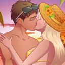 情侣偷偷接吻游戏