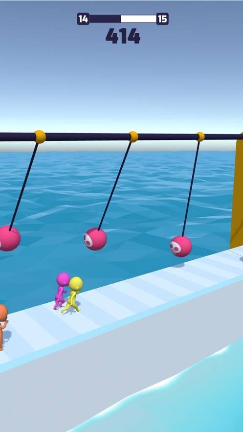 抖音上水上闯关的游戏截图